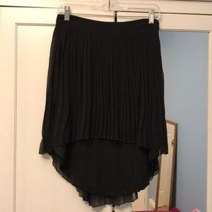 American Eagle High Low Pleated Skirt